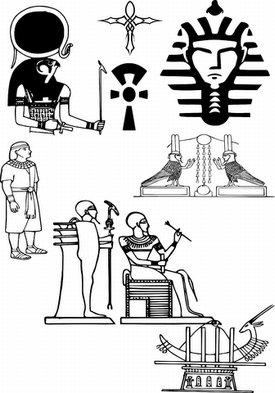Egyptian Symbols and Meanings Tattoos
