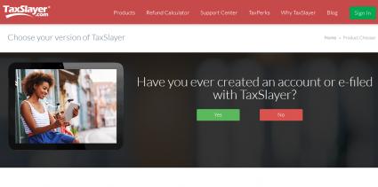 TaxSlayer.com free file