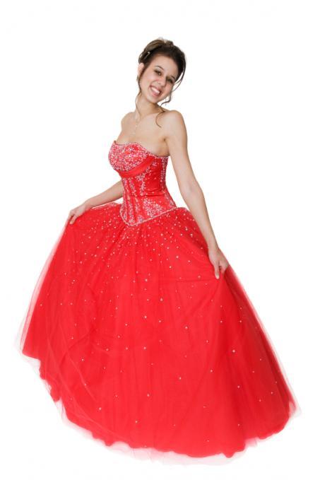Red prom dresses slideshow