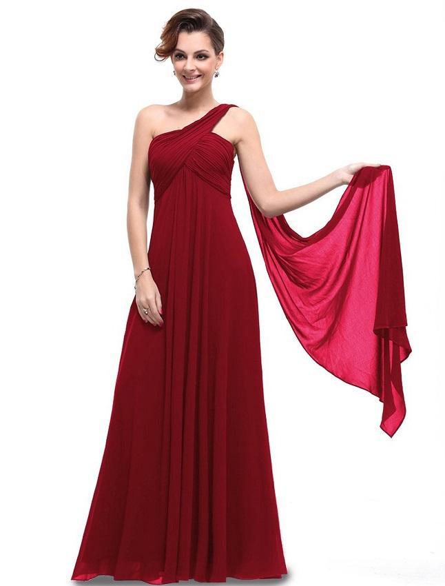Color dresses collection - Crimson colored bridesmaid dresses