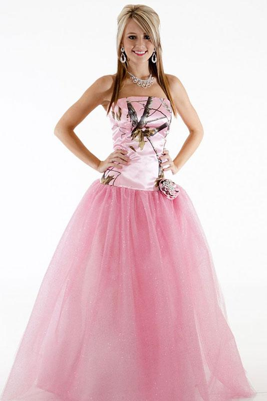 Camo Prom Formal Dresses For Cheap Fashion Dresses