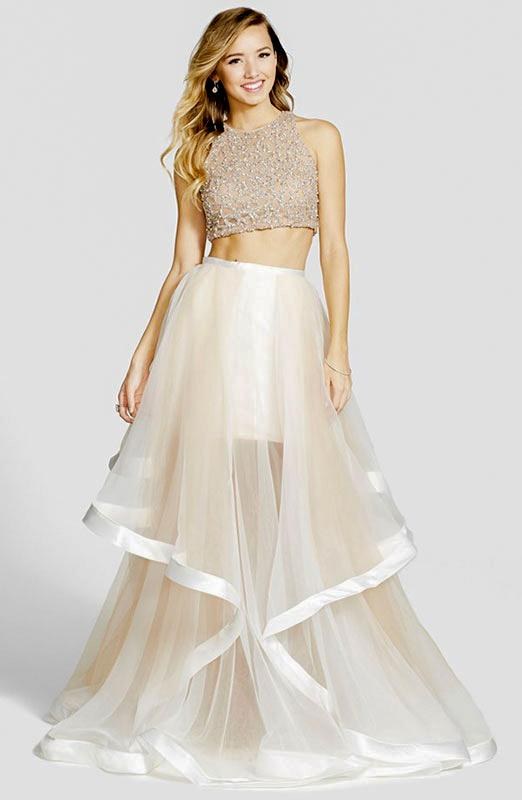 Two Piece Prom Dresses Slideshow