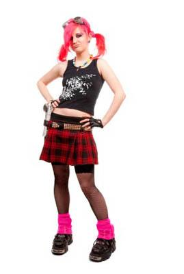 Royalty-Free Stock Photo: Punk girl.