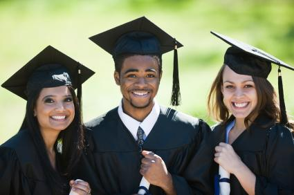 Trio of graduates