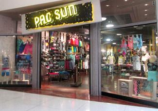 Designer Clothes Websites For Teens PacSun storefront