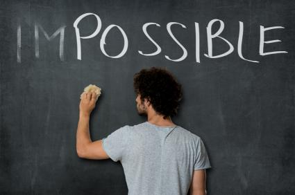 Student thinking about possibilities