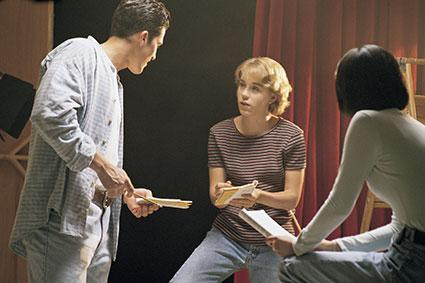 Teens role playing