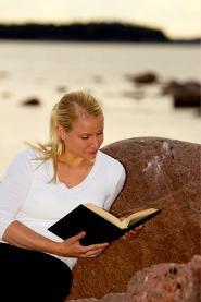 Reading a good book