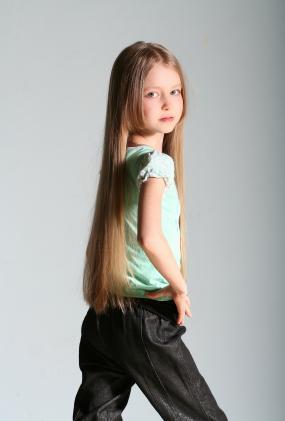 Girl Teen Tween Model