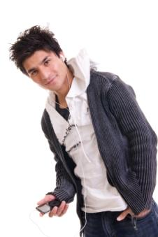 cute teen boy