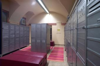 High school locker rooms are a rite of passage for some teens.