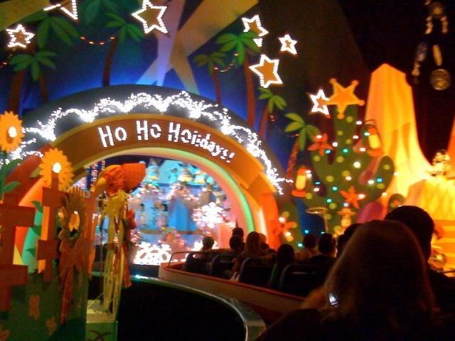 its a small world ride - Disneyland Christmas Decorations