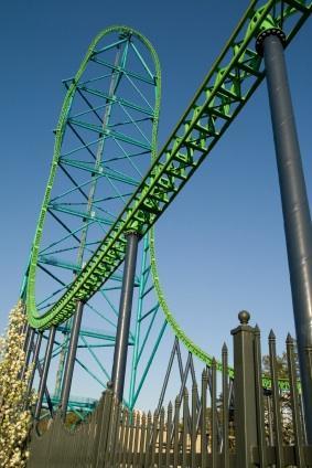 kingda ka roller coaster at Six Flags