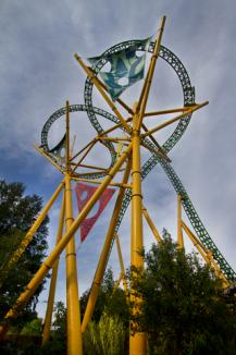 Cheetah Hunt Coaster At Busch Gardens Tampa; © Kody Little | Dreamstime.com