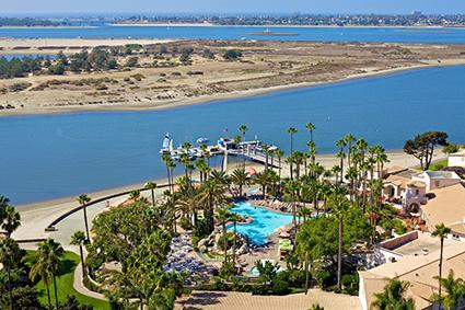 Aerial of Hilton San Diego Resort & Spa