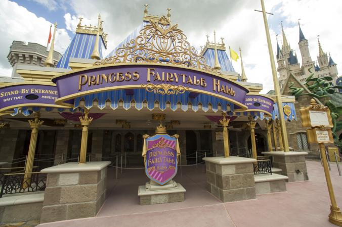 Empty lines at Princess Fairytale Hall