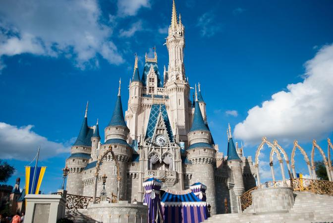 Disney World Castle, Orlando