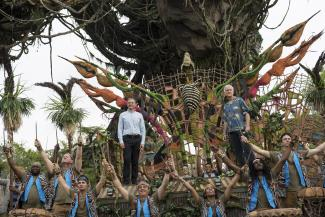 Dedication of the new land, Pandora – The World of Avatar
