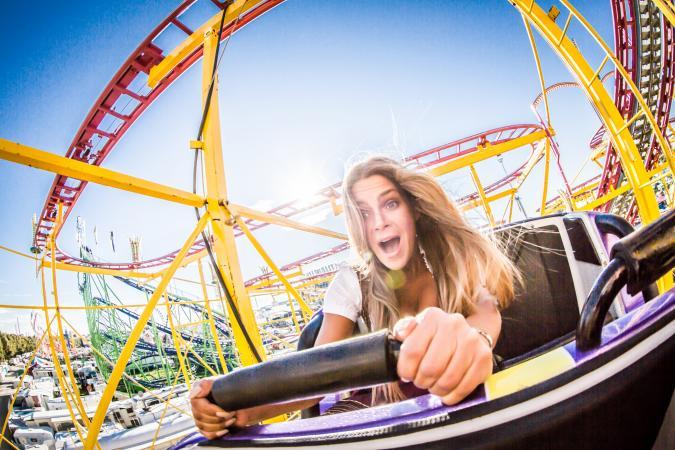 Build roller coasters online