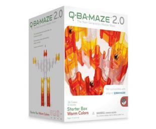 Q-Ba-Maze toy warm colors version