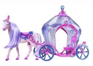 Barbie Diamond Castle Horse and Carriage
