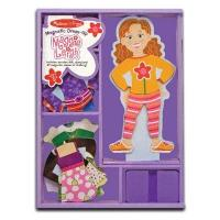 Melissa & Doug magnetic dress up doll