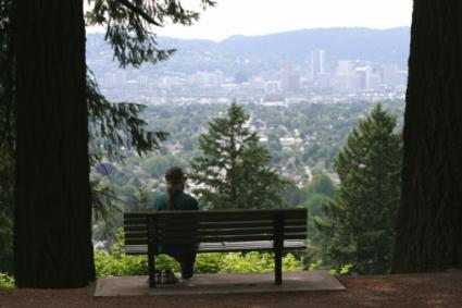 View from Mount Tabor Park, Portland