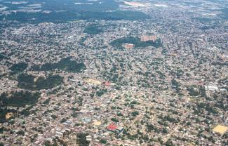 Aerial view of Manaus, Brazil
