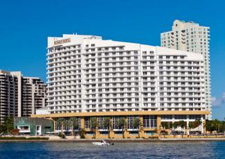 The Mandarin Oriental Hotel in Miami, Florida