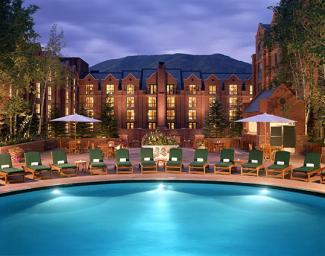 St. Regis Aspen Resort Pool and hotel