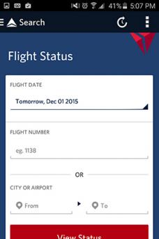 Fly Delta Flight Tracker