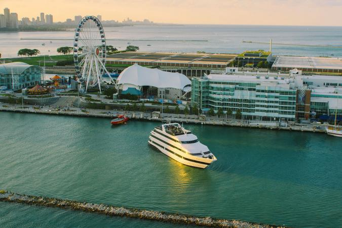 Navy Pier and the Odyssey