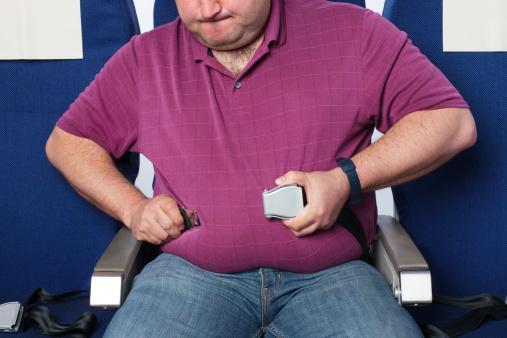 Airplane seatbelt
