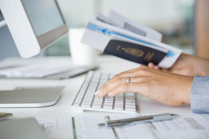 Comparing airfares to book travel