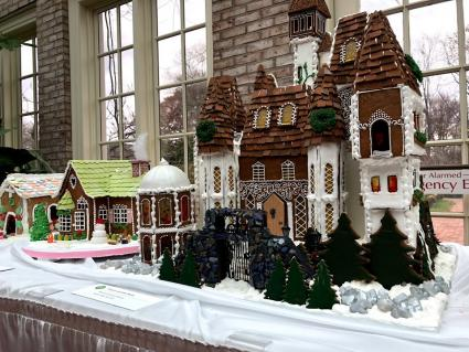 Gingerbread Houses at George Eastman Museum