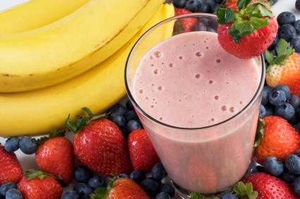 berry protein shake