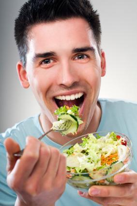 Salad man