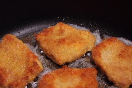 Fried TVP Cutlets; © Teine | Dreamstime.com