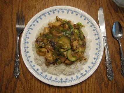 Vegetarian Kung Pao Chicken