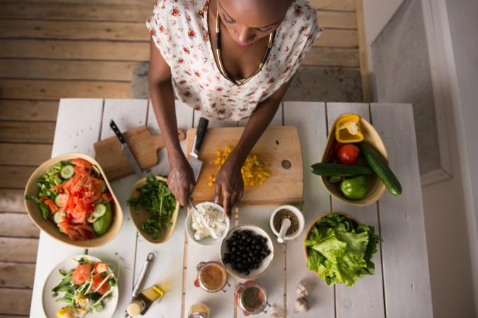 Vegetarian food prep