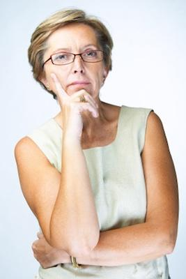 Mature woman worrying. By Donna Theobald. Whether you are male or female, ...