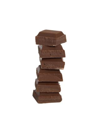 Chocolate square stack