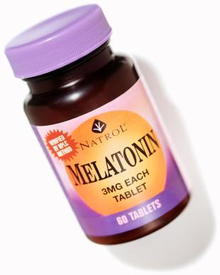 Melatonin treats insomnia