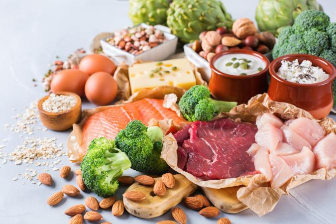 Vitamin B-rich foods