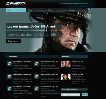 Web template from Free Website Templates