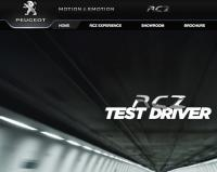 Peugot Website