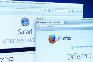 Firefox and Safari