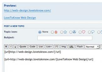 Screenshot of phpBB Forum