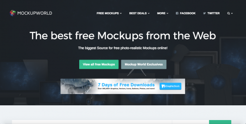 Screen shot of Mockupworld.co