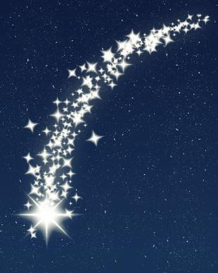 Shooting Star Animated Clipart